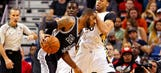 Spurs up to their old tricks, rally to 7th straight win