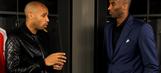 Soccer legend Thierry Henry interviews Kobe Bryant