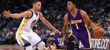 Stephen Curry has nothing but praise for Lakers rookie D'Angelo Russell