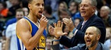 Curry's off again, but Warriors use late rally to get past Timberwolves