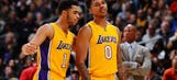 Report: Lakers feuding after prank gone wrong by rookie D'Angelo Russell