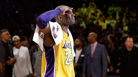 Kobe's final game