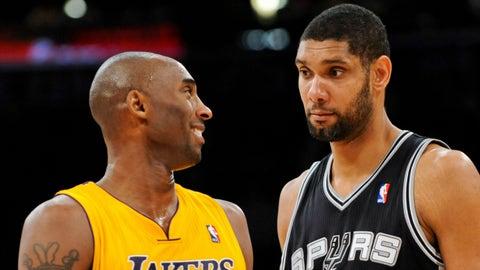 Los Angeles Lakers vs. San Antonio Spurs
