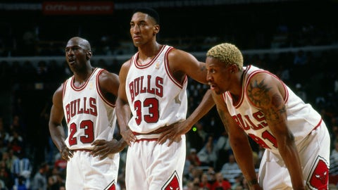 The Bulls' Finals record doesn't belong to just Michael Jordan