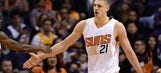 Phoenix Suns C Alex Len's height helped save his friend from drowning