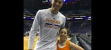Phoenix Suns G Devin Booker delights a huge fan with a surprise trip