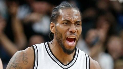 Spurs best: Kawhi Leonard (93 overall)