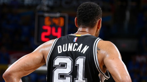 Tim Duncan, power forward