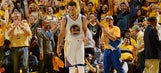 Steph Curry celebrated another NBA record by drilling a ridiculous buzzer beater