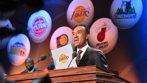 Get lucky in this year's draft lottery, then take Lonzo Ball