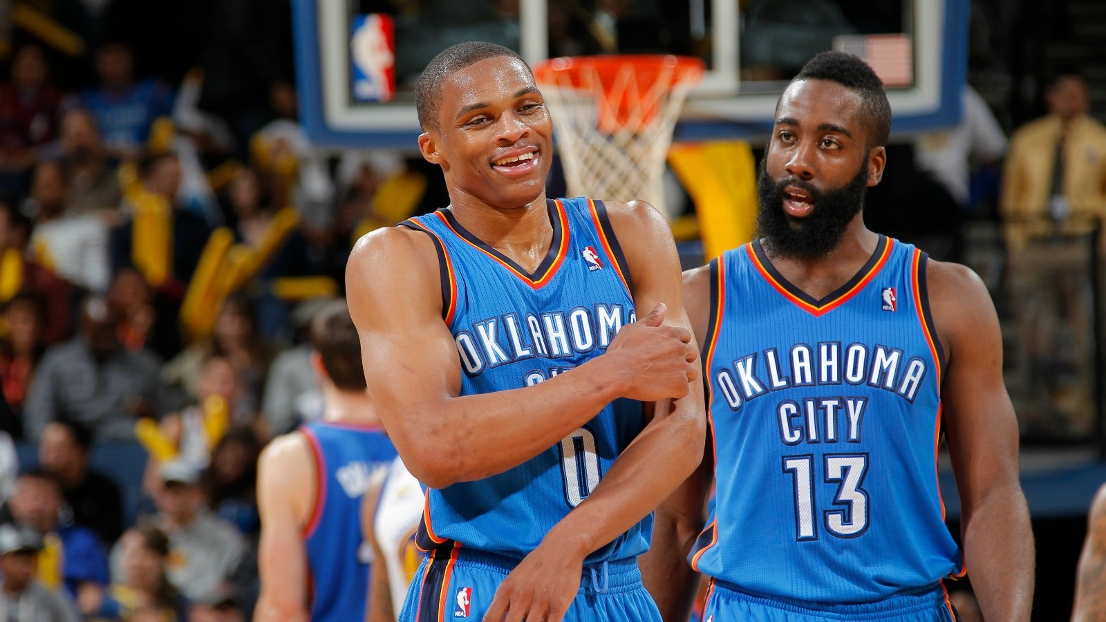 new style b5b30 9c5c0 How Russell Westbrook and James Harden were almost college ...
