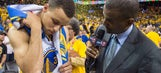 Stephen Curry says his elbow won't be an issue in Game 3 vs. Thunder