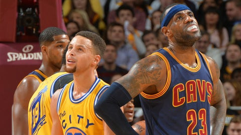 Let's save the NBA from the Cavs and Warriors.