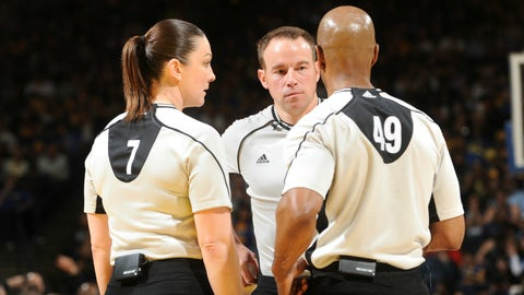 NBA players are blasting the refs this season