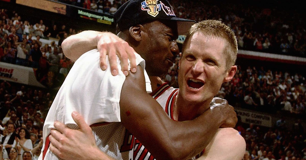 Tbt 20 Years Ago Michael Jordan Passed To Steve Kerr To