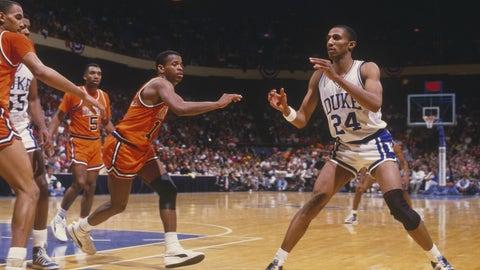 No. 2 Duke 93, No. 6 North Carolina 77 (Jan. 19, 1985)