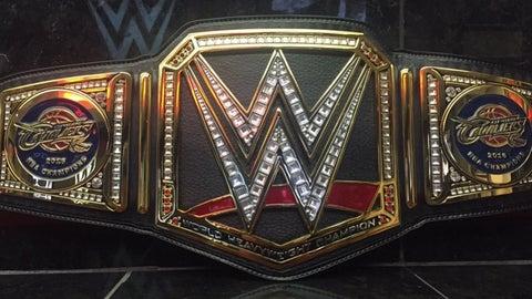 Institute a regular-season, wrestling-style championship belt