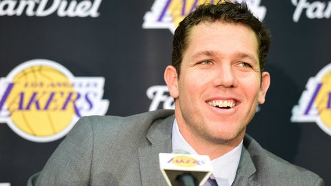 The team will look to capitalize on having Luke Walton as head coach