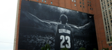 This iconic LeBron James banner won't be taken down after all