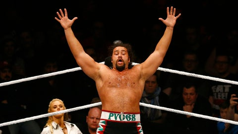 Rusev vs. Zack Ryder for the United States Championship