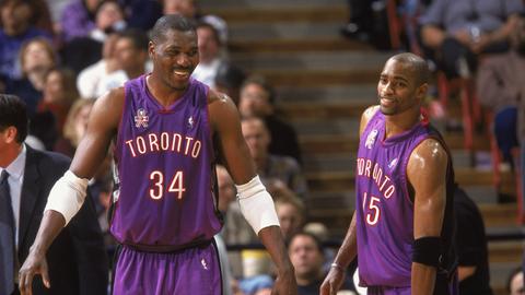 Hakeem Olajuwon (retired with Toronto Raptors)