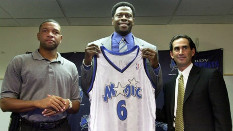 Patrick Ewing (retired with Orlando Magic)