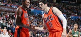 Oklahoma City's Enes Kanter takes a hilarious swipe at Kevin Durant
