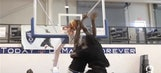 Watch Victor Oladipo posterize a poor camper who dunked on him
