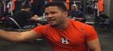Houston Astros locker room breaks out into Backstreet Boys karaoke