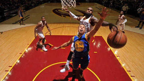 The 2016 NBA Finals in one photo