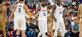 Team USA players quick to bond despite battling during the NBA season