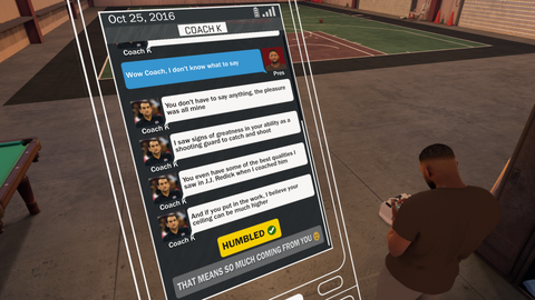 MyCareer: a lot of fun & Creepy Krzyzewski