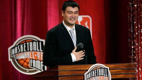 Yao Ming, China (2002-11)