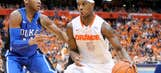 Syracuse takes top spot in poll, Arizona falls to 2nd
