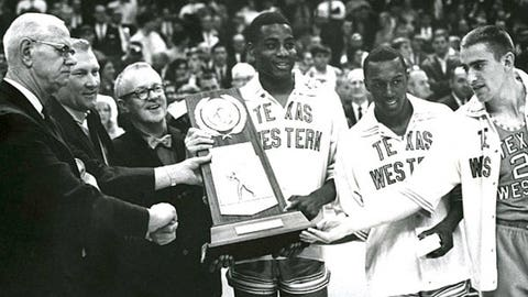 4. Texas Western upsets Kentucky in 1966 national title game
