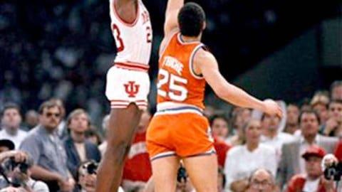 7. Keith Smart's game-winning shot