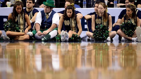 Fighting Irish make early exit