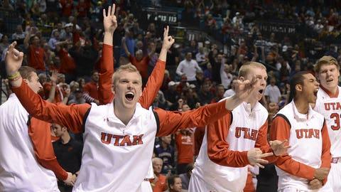Utah bench erupts