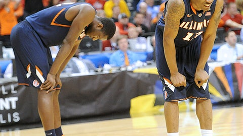 Illini ousted