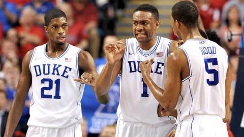 (3) Duke vs. (14) Mercer, Friday, 12:15 p.m. ET, CBS