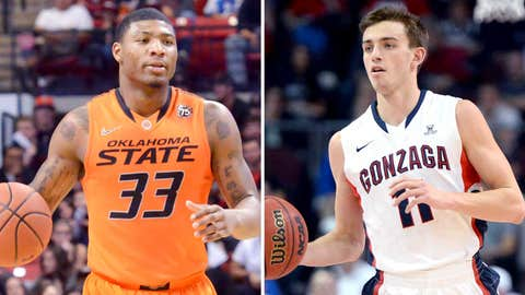 (8) Gonzaga vs. (9) Oklahoma State, Friday, 4:40 p.m. ET, TNT