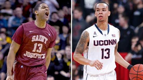 (7) UConn vs. (10) Saint Joseph's, Thursday, 6:55 p.m. ET, TBS