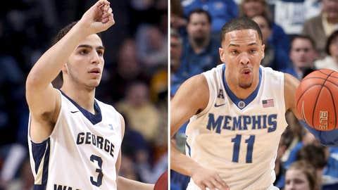 (8) Memphis vs. (9) George Washington, Friday 6:55 p.m. ET, TBS