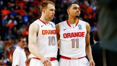 Syracuse's title hopes dashed