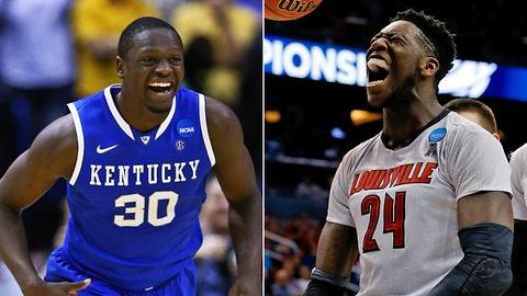 Midwest: No. 8 Kentucky vs. No. 4 Louisville, Friday, 9:45 p.m. ET, CBS