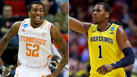 Midwest: No. 11 Tennessee vs. No. 2 Michigan, Friday, 7:15 p.m. ET, CBS