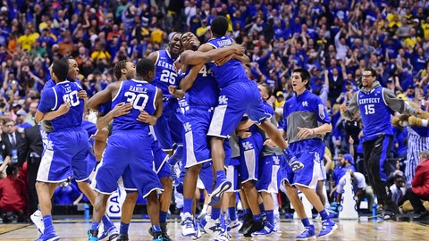 March runner-up: March 21-30 -- Kentucky saves its season