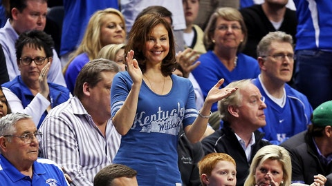 Ashley Judd -- Kentucky Wildcats
