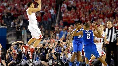 Badgers make Final Four, losing in final seconds in semifinal to Kentucky