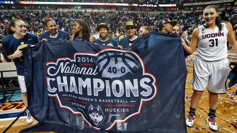 April runner-up: April 8 – UConn women complete perfect season